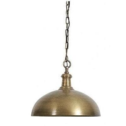 Antique Brass Dome Light-Medium - CENTURIA