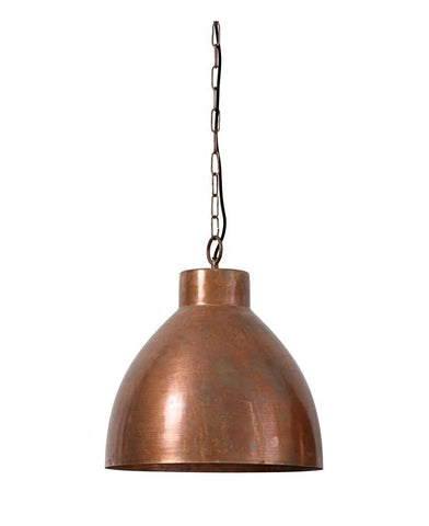 Aged Copper Pendant Light - CENTURIA