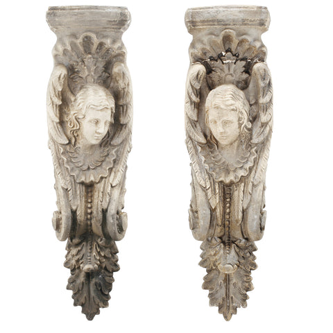 Chartres Wall Sculptures-Set/2 - CENTURIA
