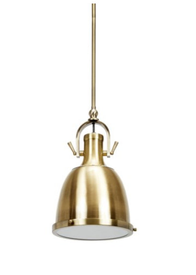 Antique Brass Adjustable Pendant Light - CENTURIA