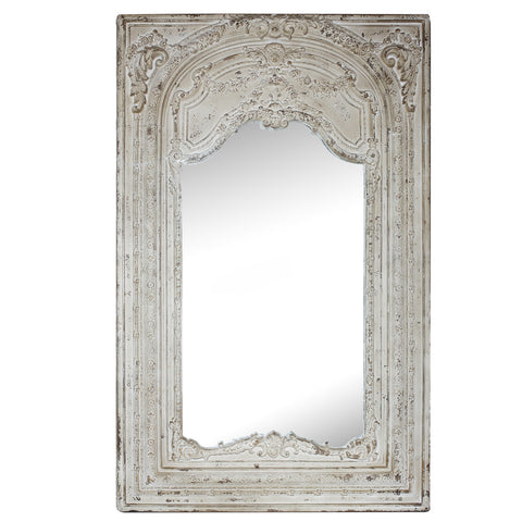 Antique Long French Mirror