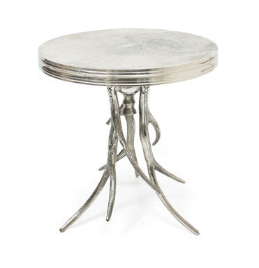 Silver Antler Side Table - CENTURIA