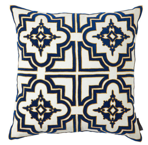 Belmont Pillow in Navy - CENTURIA