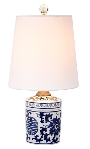 Blue and White Chinoiserie Lamp - CENTURIA