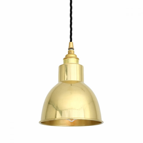 Brass Dome Pendant Light - CENTURIA