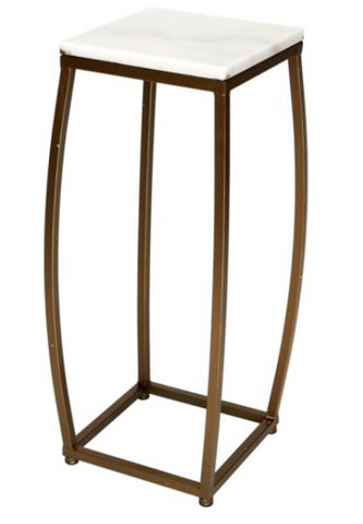 Bronze and Marble Side Table - CENTURIA