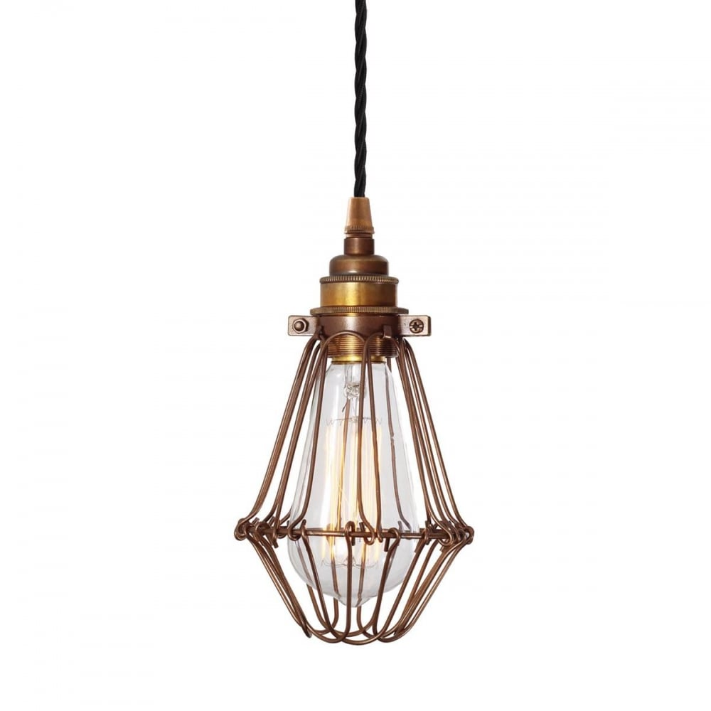 Vinage Style Industral Cage Pendant Light