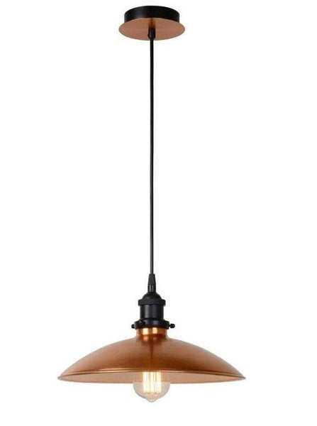 Copper Antique Brass Pendant Light - CENTURIA