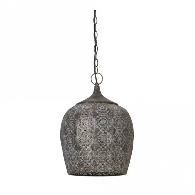 Rustic Decorative Metal Pendant
