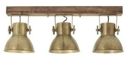 Wooden Barn and Bronze Fixture - CENTURIA