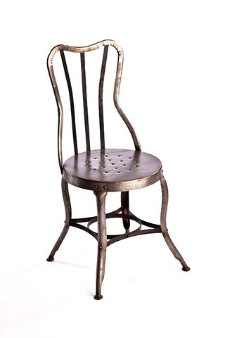 Vintage Rustic Metal Chair - CENTURIA