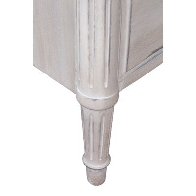 French Provincial Style Dresser in Shell White - CENTURIA