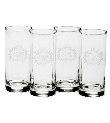 Verre d' Amitie Glasses-Set/6 - CENTURIA