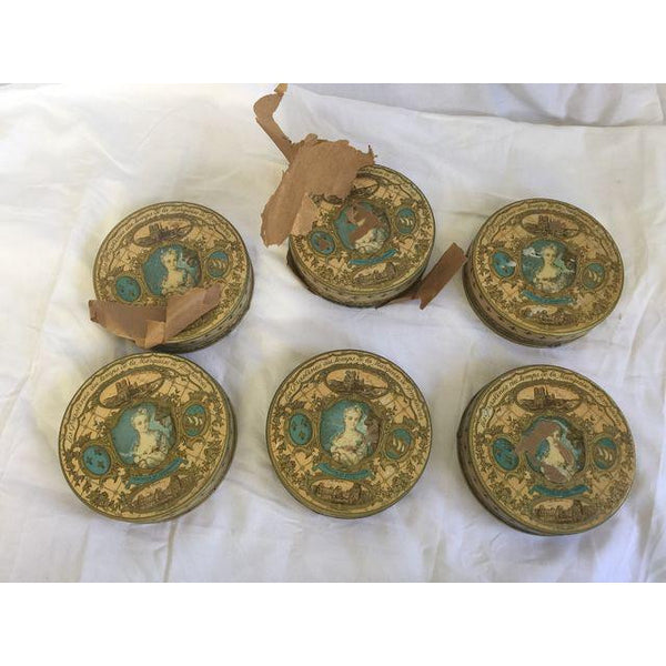 VINTAGE FIND: Antique French Tins - CENTURIA