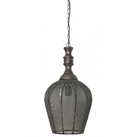 Open Gold Bronze Pendant Light - CENTURIA