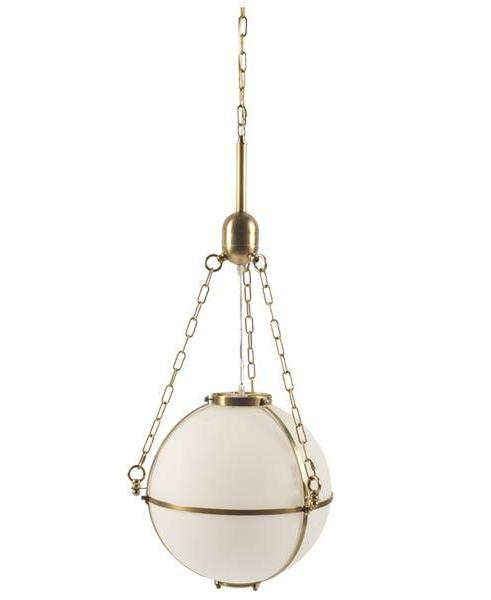 Grayson Light in Antique Brass - CENTURIA