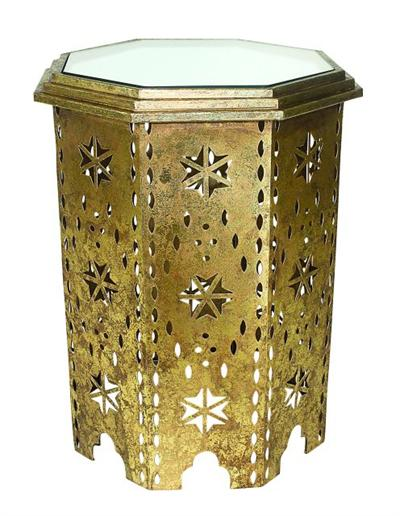Gold Iron Moroccan Table - CENTURIA