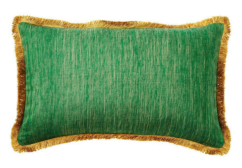 Silk Green Isles Pillow