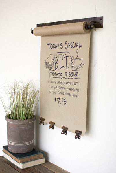 Rustic Hanging Note Roll - CENTURIA