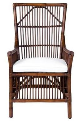HIgh Back Rattan Chair - CENTURIA