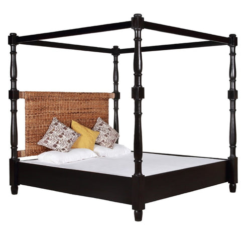 Island Canopy Bed King