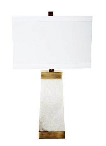 Ivory Marble Table Lamp - CENTURIA