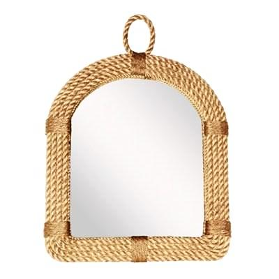 Jute Rope Arched Mirror - CENTURIA