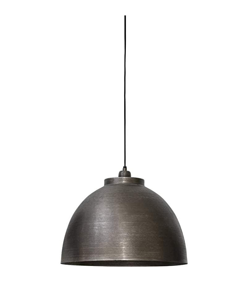 Industrial Nickel Pendant Light - CENTURIA