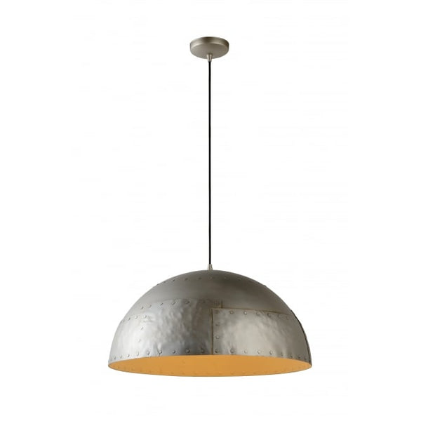 Large Industrial Hammered Dome Light - CENTURIA