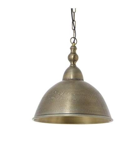 "Antique Bronze Pendant Light-13""x13"" - CENTURIA"