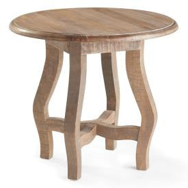 Simple Light Oak Side Table - CENTURIA