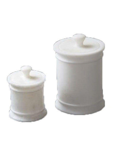 Marble Canisters-A Pair - CENTURIA