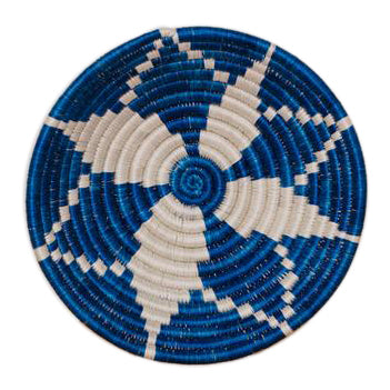 Blue and White African Bowl - CENTURIA
