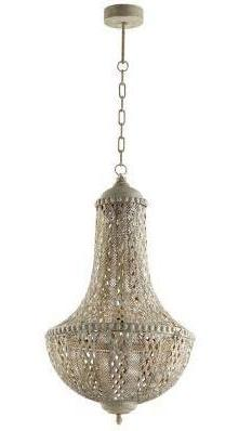 Antique Silver Moroccan Style Light I - CENTURIA