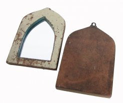Petite Moroccan Style Mirrors-A Pair - CENTURIA