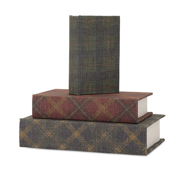Plaid Books-Set of 3 - CENTURIA