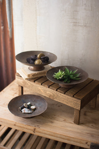 Set of 3 Rustic Bowls - CENTURIA