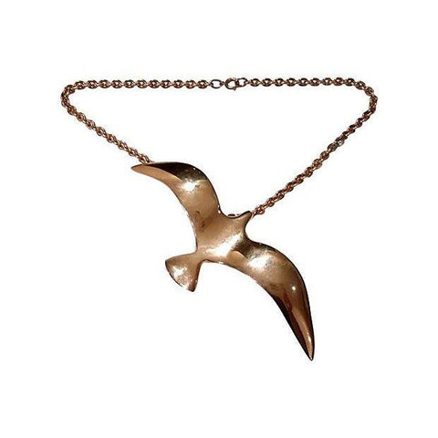 Vintage 1960s Tortaloni Bird Necklace - CENTURIA
