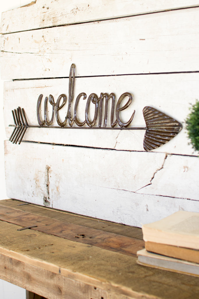 Metal Welcome Sign - CENTURIA