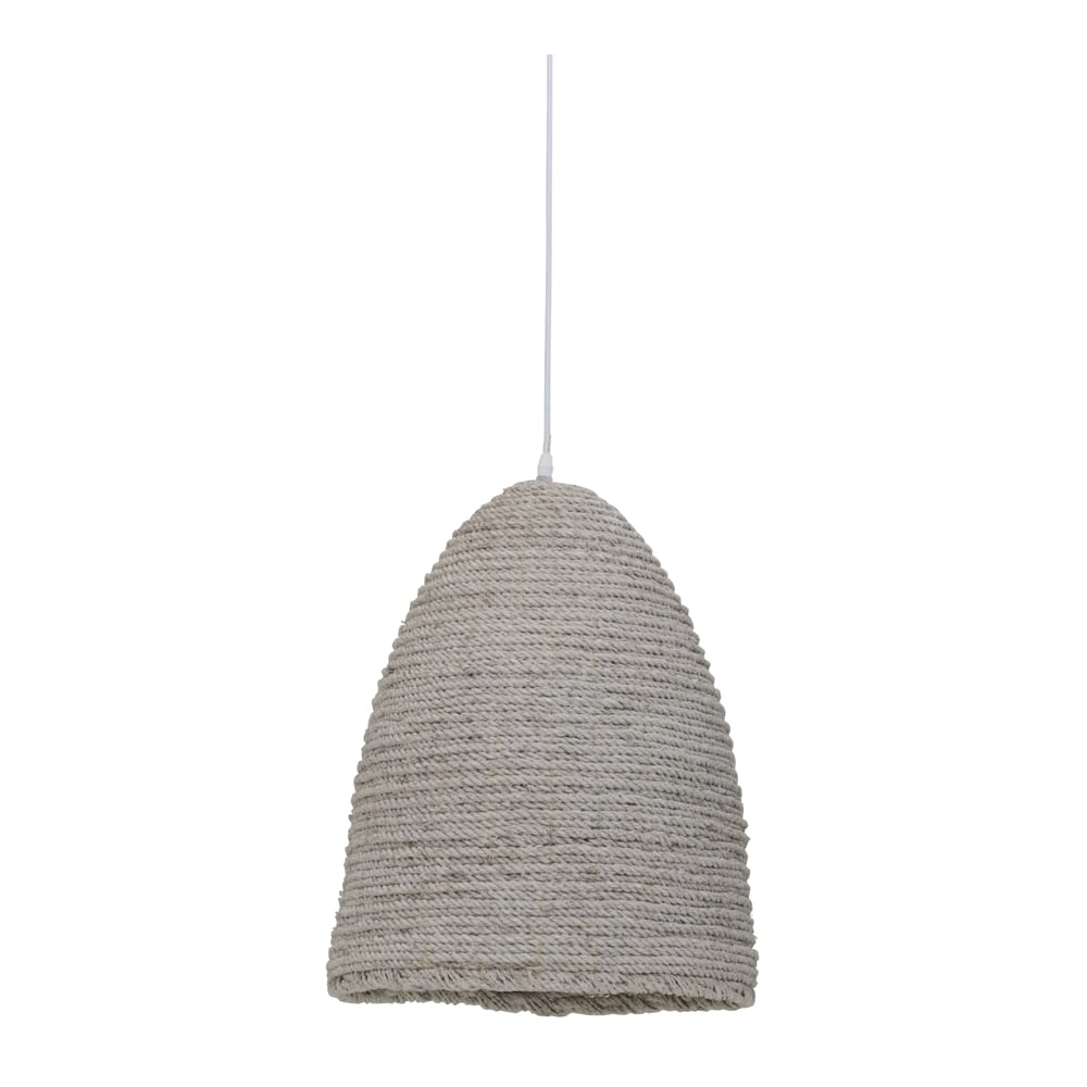 Natural White Washed Rope Pendant - CENTURIA