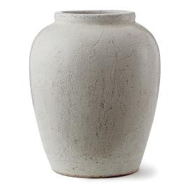 White Weathered Urn - CENTURIA