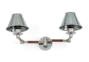 Vintage Style Industrial Elbow Sconce