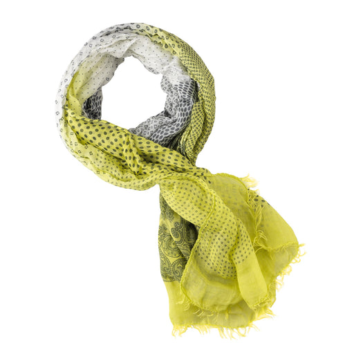 Roeckl Pattern Tuch - lime/stone