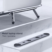 Load image into Gallery viewer, Oatsbasf Laptop stand suporte notebook tablet accessories macbook pro stand Mini Foldable laptop Portable holder Cooling stand