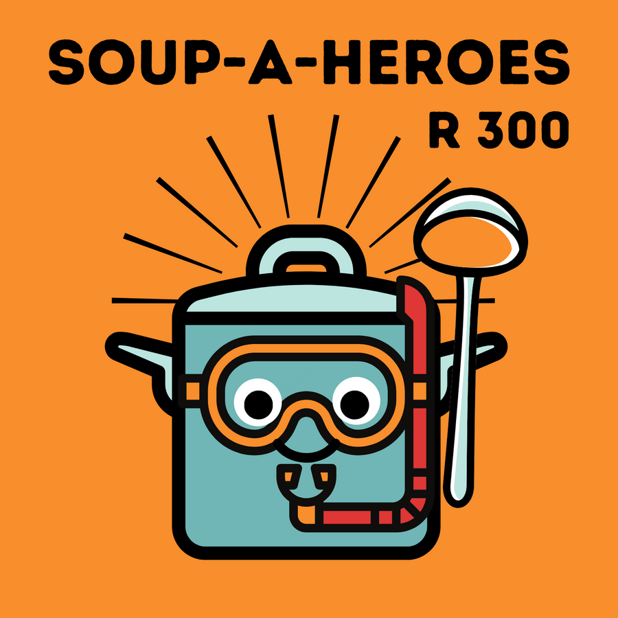 This Soup-A-Hero donation feeds 170 people!