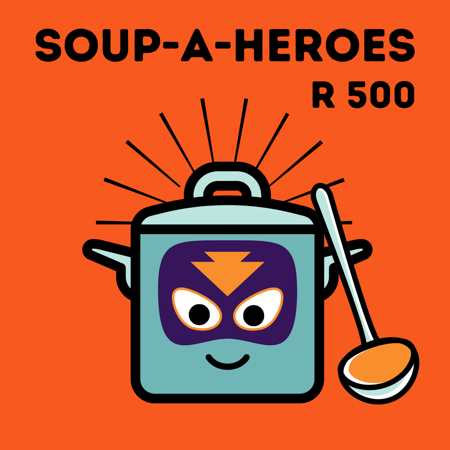 This Soup-A-Hero donation feeds 285 people!