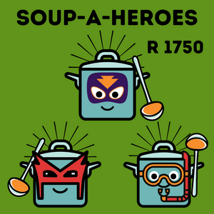 This Soup-A-Hero donation feeds 1500 people!