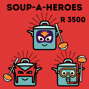This Soup-A-Hero donation feeds 3000 people!