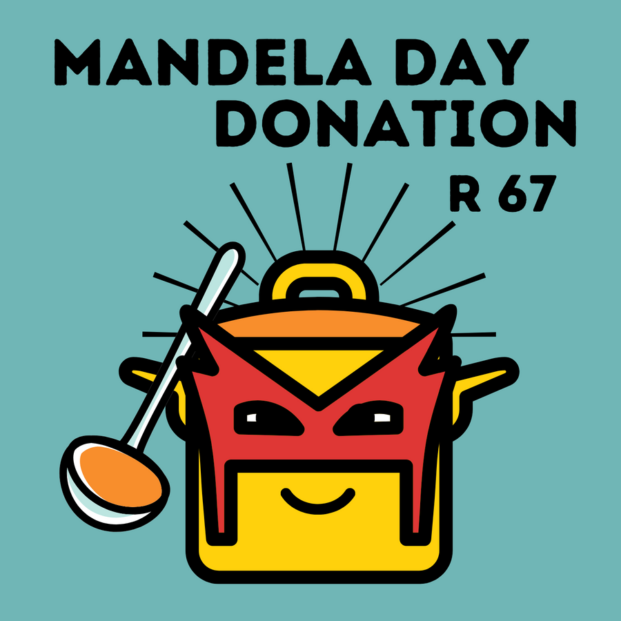 R67 Mandela Day Donation to Soup-A-Heroes