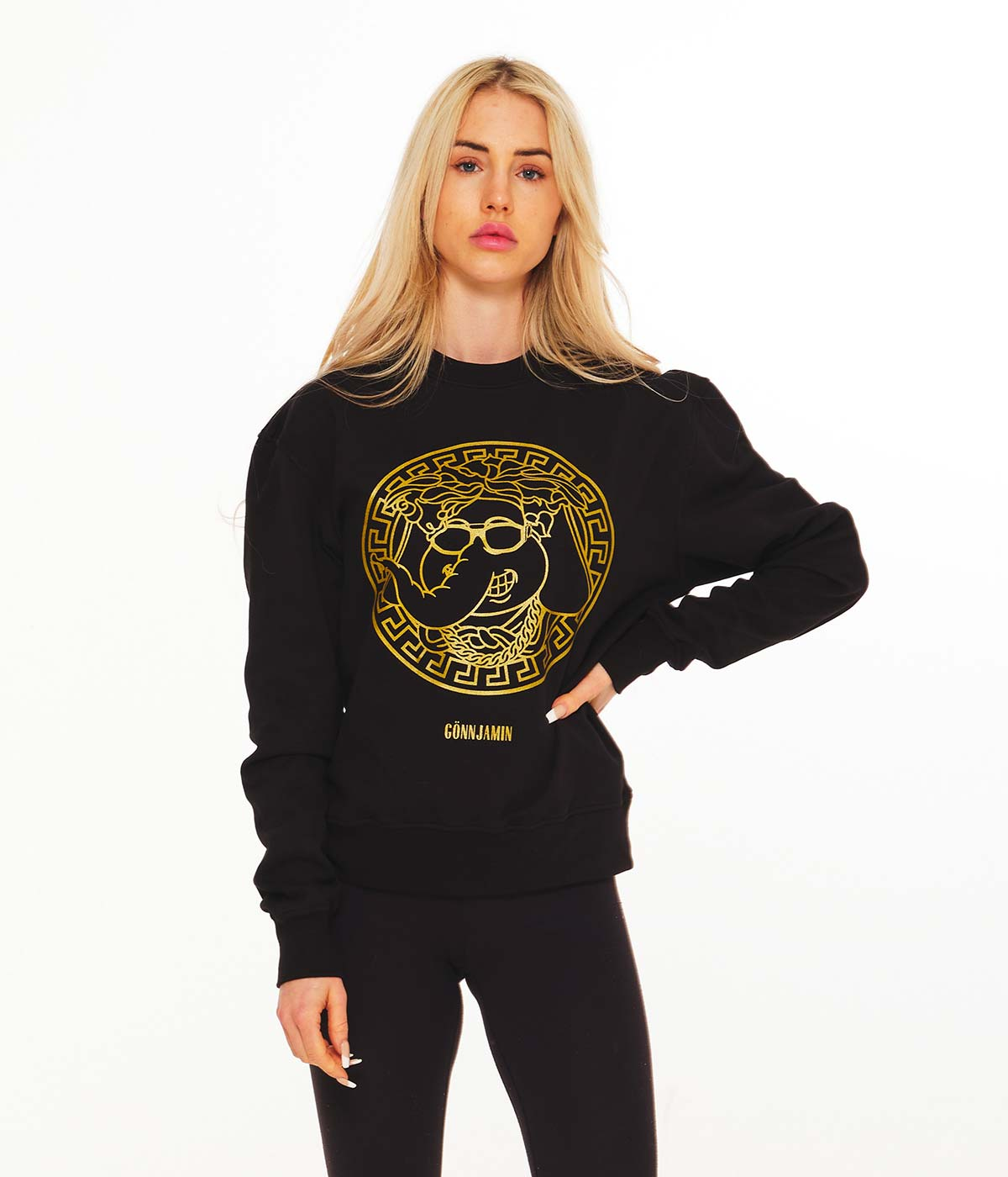 Gold Sweatshirt III